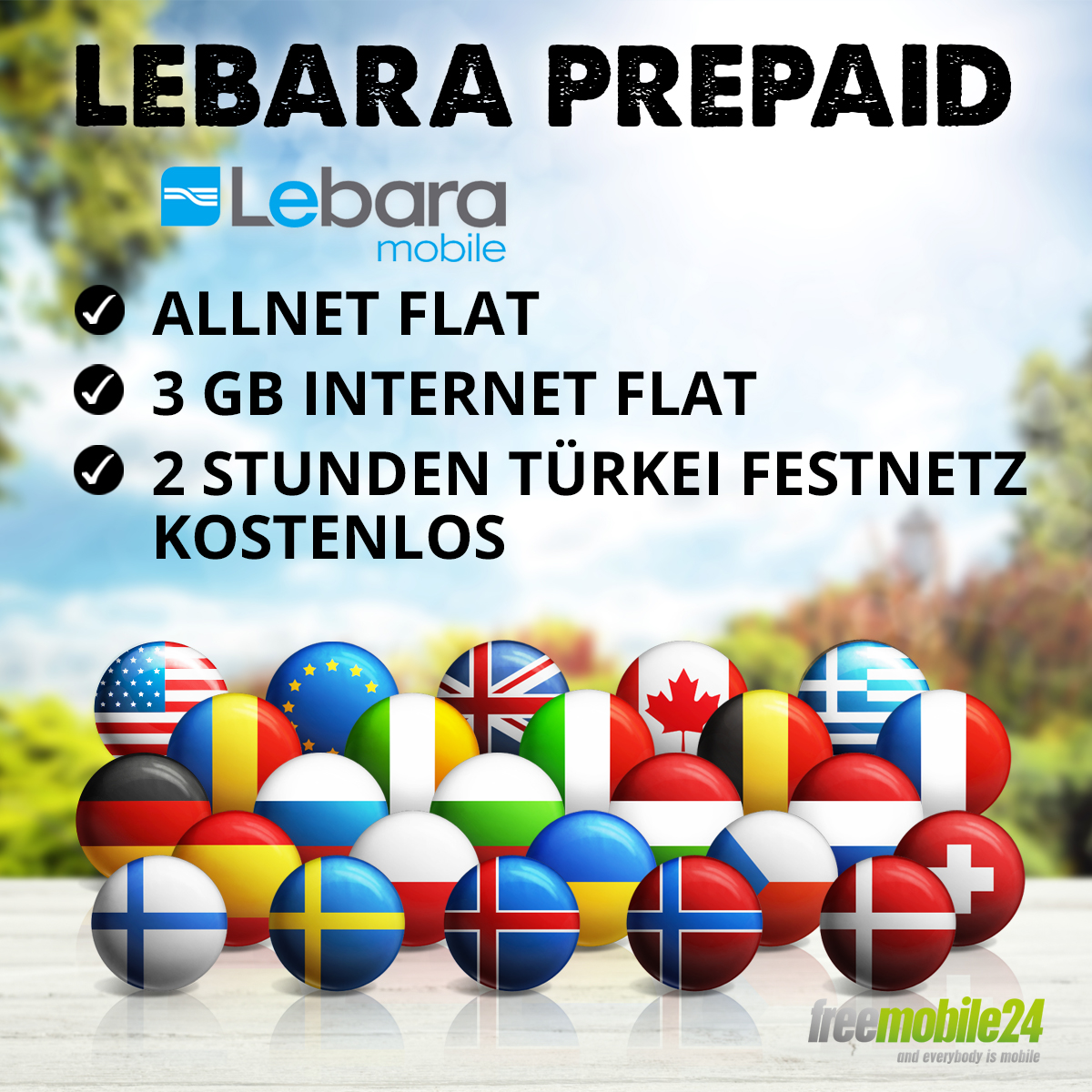 lebara prepaid sim karte allnet flat internet flat 3gb t mobile t rkei festnetz ebay. Black Bedroom Furniture Sets. Home Design Ideas